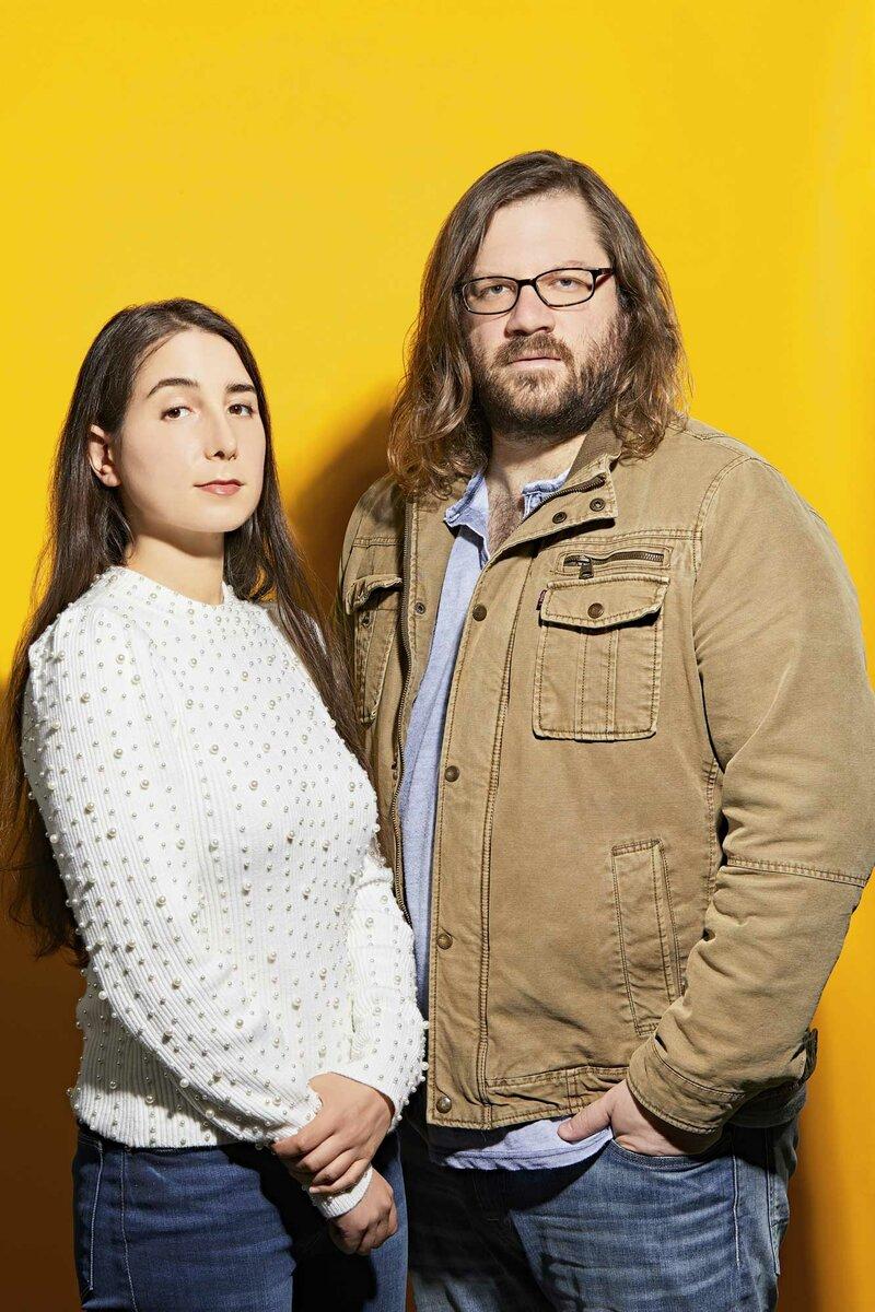 Основатели стартапа Frobot и Kytch Мелисса Нельсон и Джереми О'Салливан. Фото: GABRIELA HASBUN