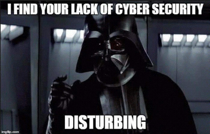 Darth Vader finds lack of security in SaaS applications disturbing