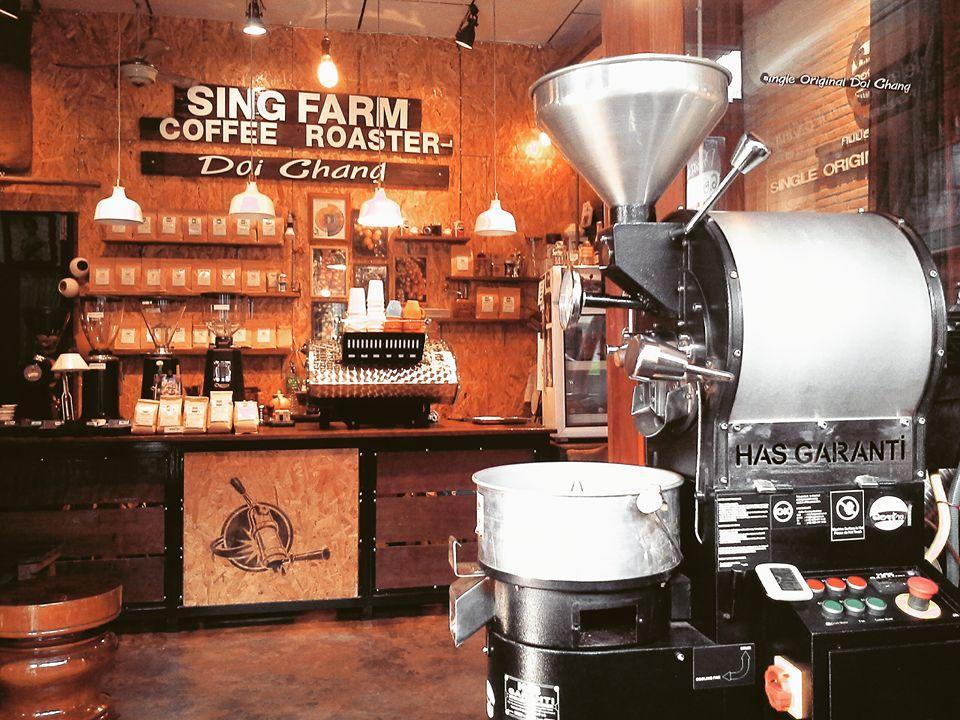 3. SingFarm Coffee Roaster Kalasin โรงคั่วกาแฟสิงห์ฟาร์ม