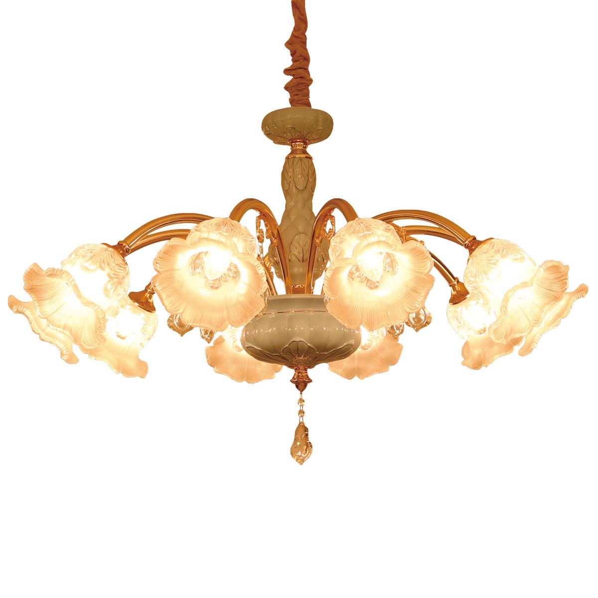 Đèn chùm thủy tinh được rất nhiều người sử dụng và lựa chọn