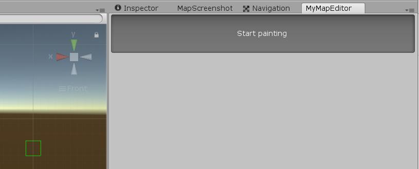 "Bouton ""Start Painting"""