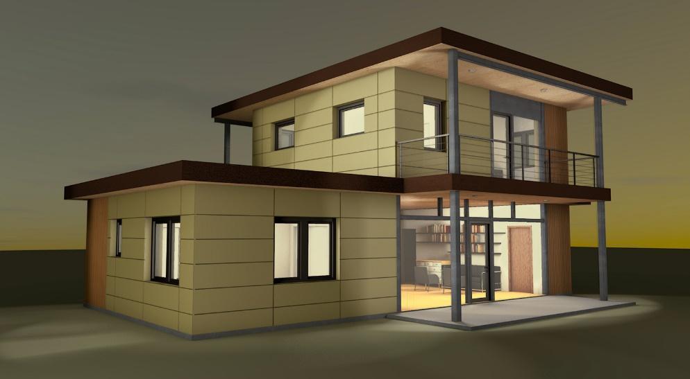 Mẫu thiết kế nhà ở hiện đại