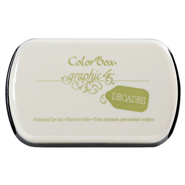 Clearsnap Decades Dye Pad Antique Moss