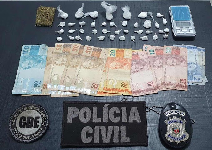 Laranjeiras: GDE derruba biqueira de luxo e prende jovem traficante