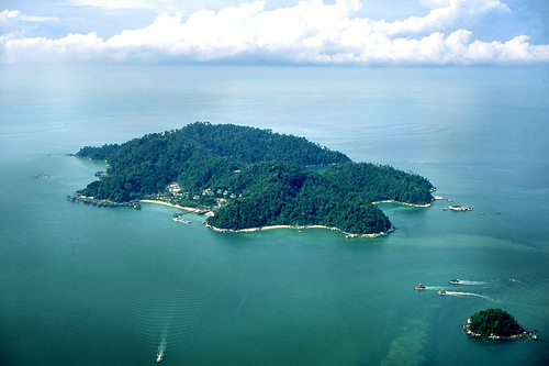 Overview of Pangkor Island.