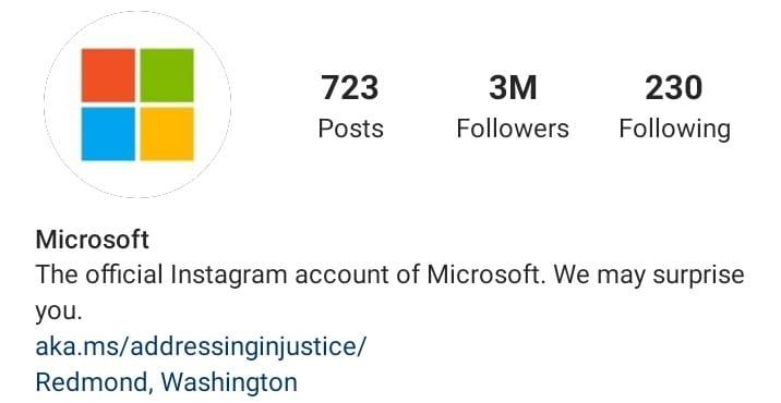 Instagram Bio
