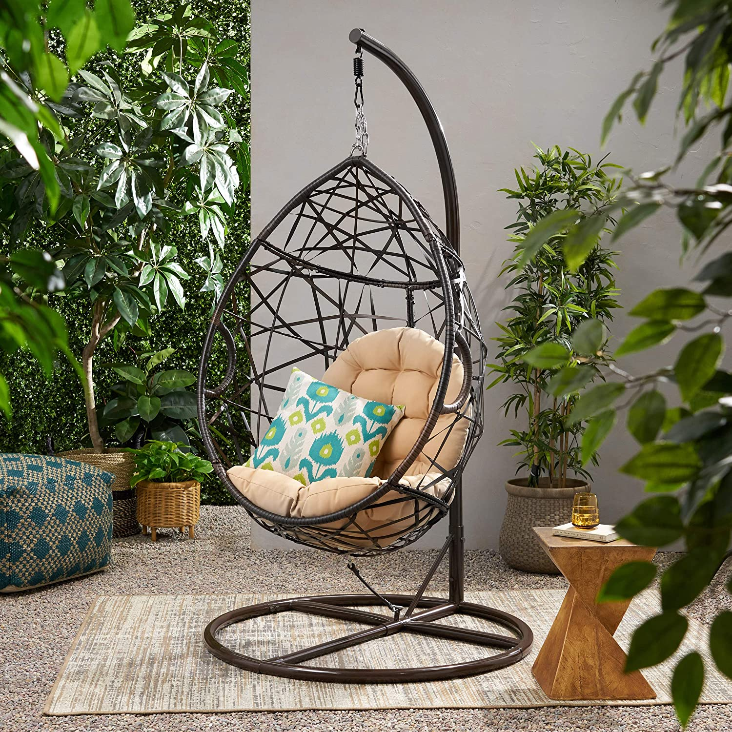 Top 10 hanging chairs for houses and gardens 2020 12