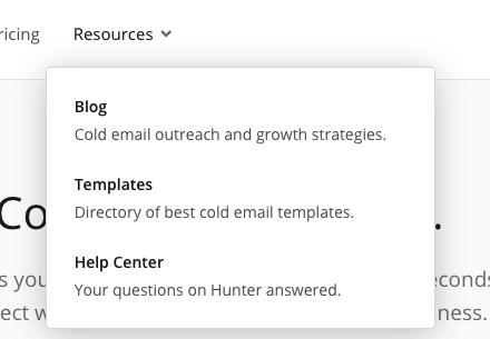 Hunter resources