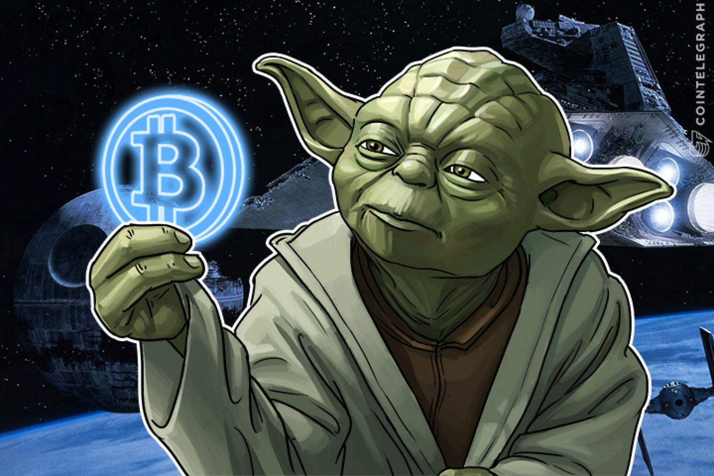 Yoda with Bitcoin