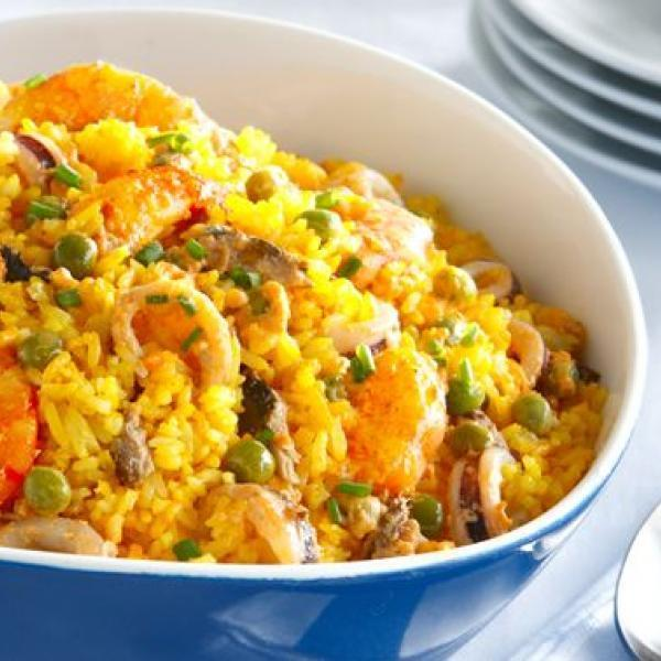 one-pot meals to try creamy seafood rice