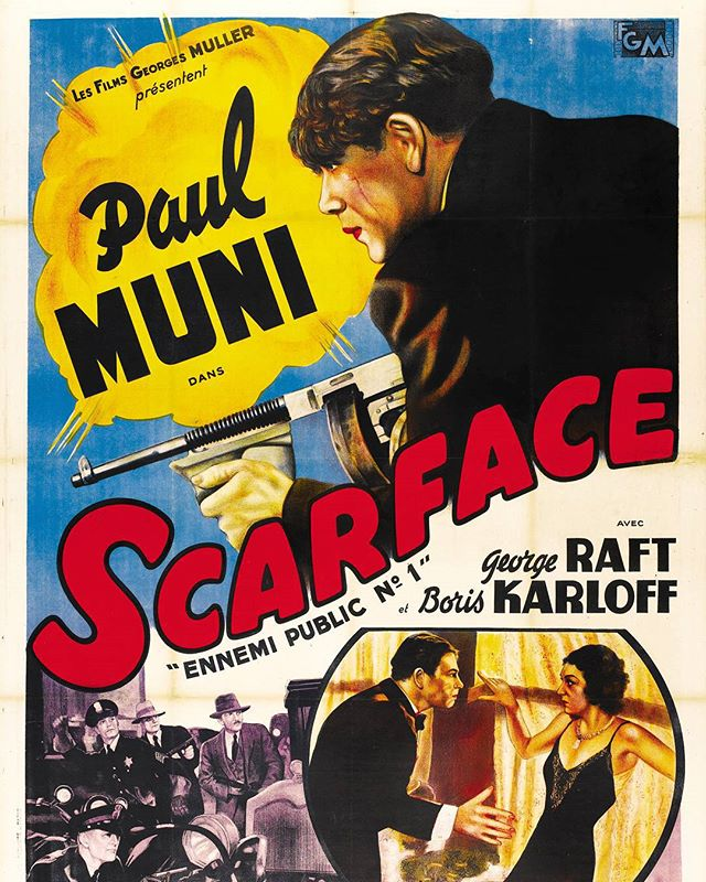 Scarface, el terror del hampa (1932, Howard Hawks)