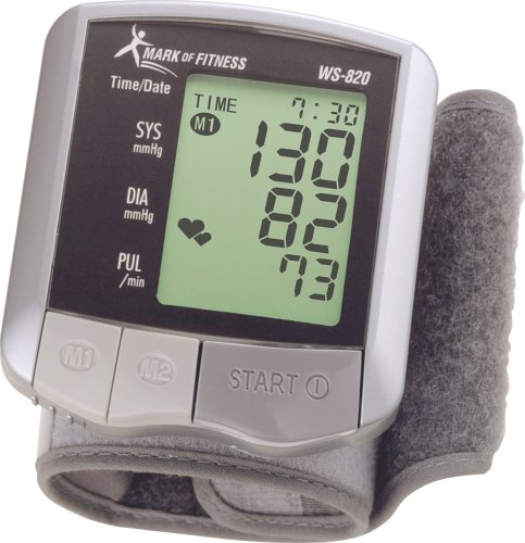 image of Mark of Fitness blood pressure monitor