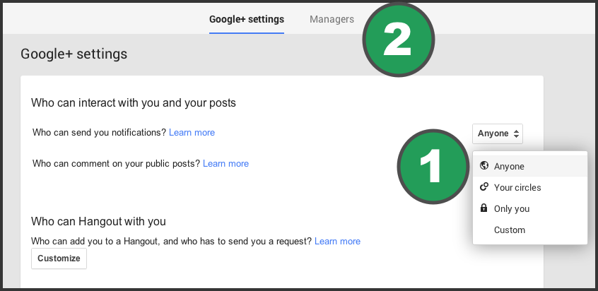 how to add two address in google business