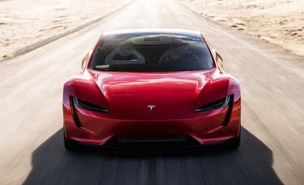 Tesla Roadster รถสปอร์ตขับเคลื่อนด้วยไฟฟ้าเต็มระบบ
