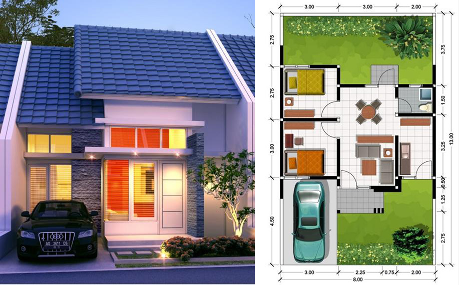 Cara perhitungan kebutuhan batu bata merah untuk rumah type 45