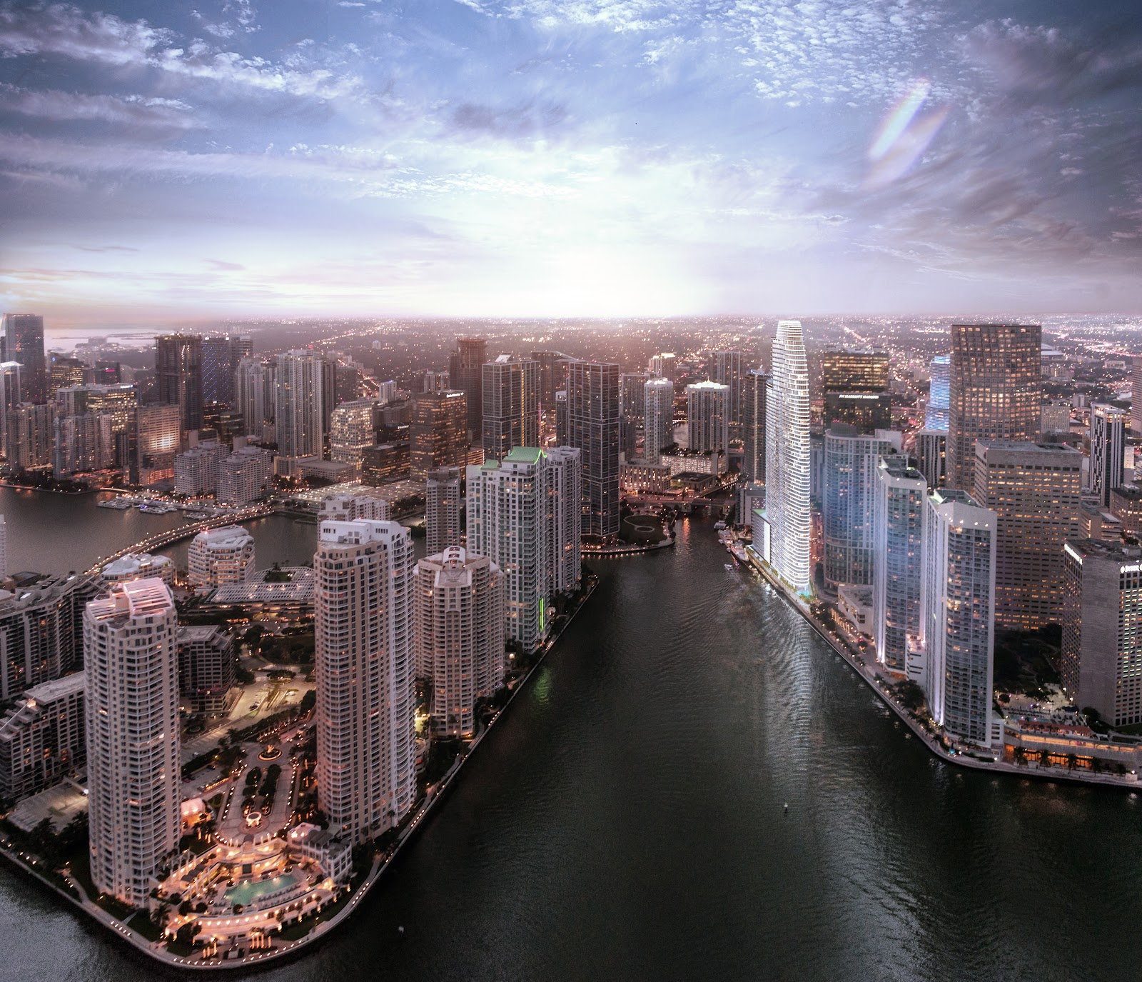 Aston Martin Residences Miami Horizon Aerial