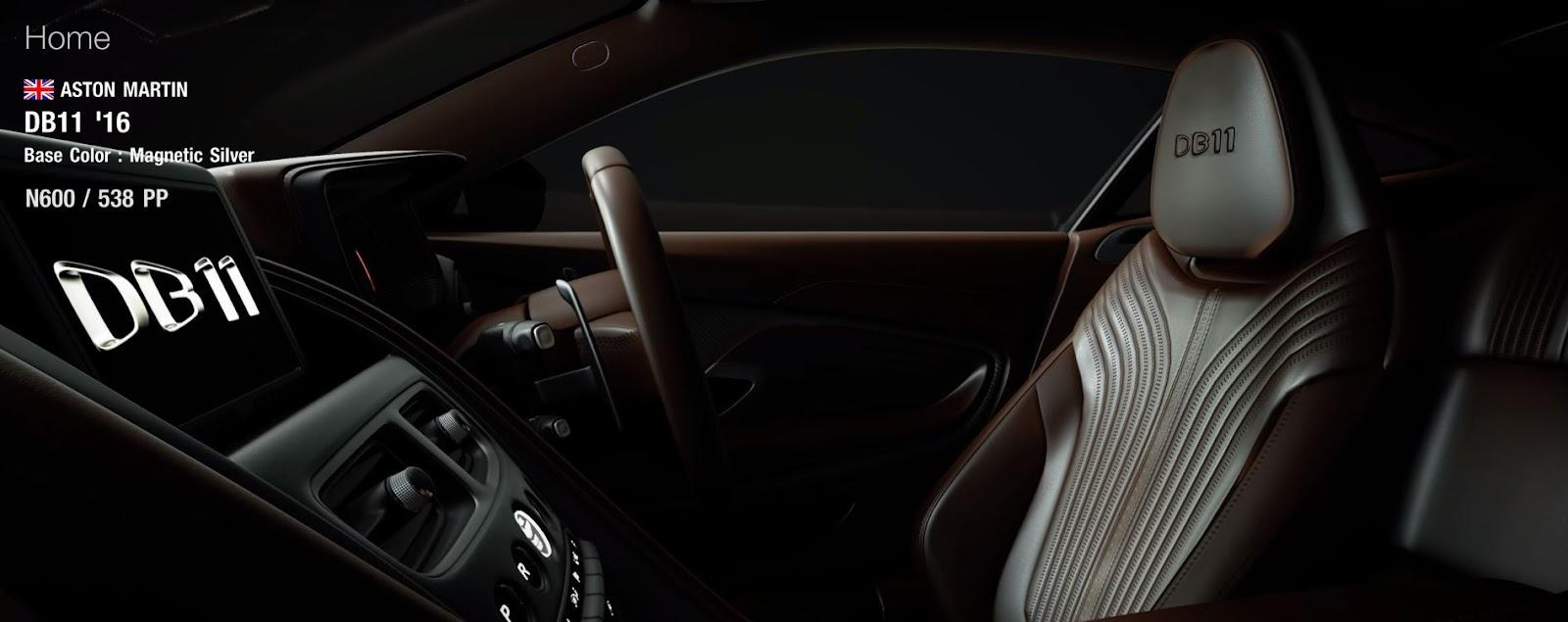 Gran Turismo 7 Aston Martin DB11 Interior
