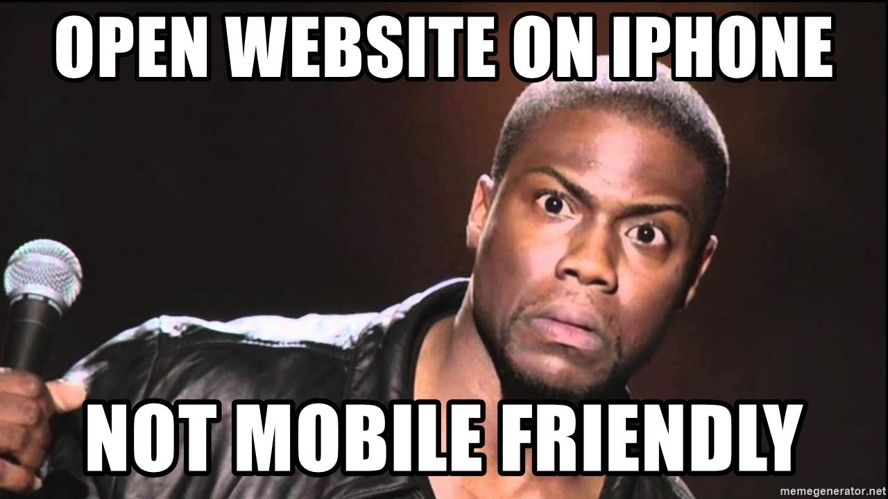 website mobile friendly