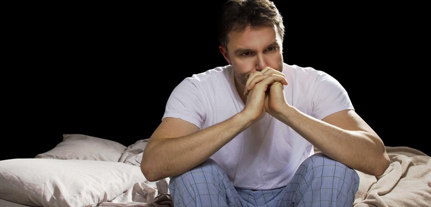 homem com ansiedade