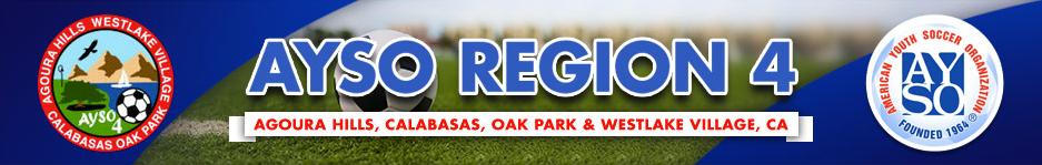 AYSO Region 4 - Agoura, Calabasas, Oak Park, & Westlake Village