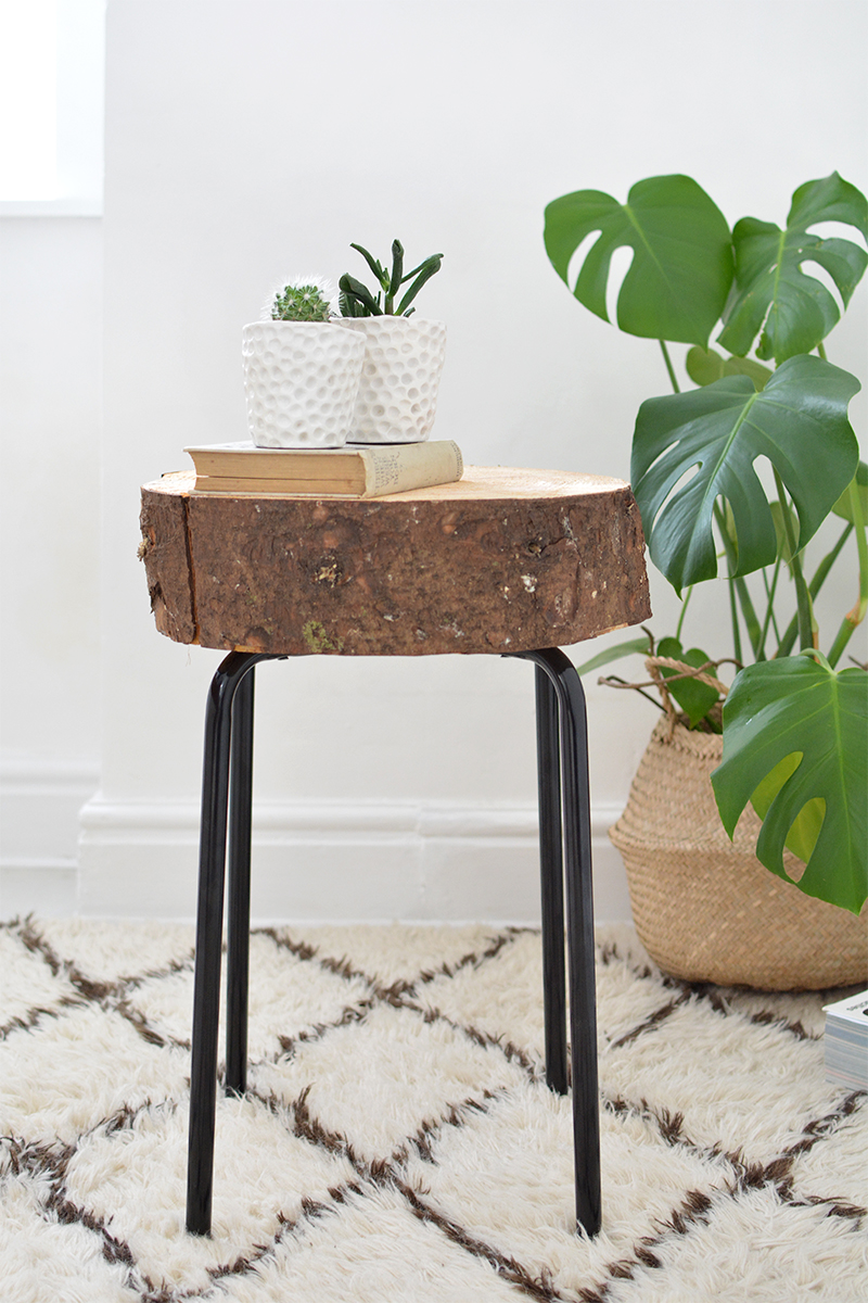 Wood Stool: 20 Cheap IKEA Hacks For The Home will help you save maney and transform your space.