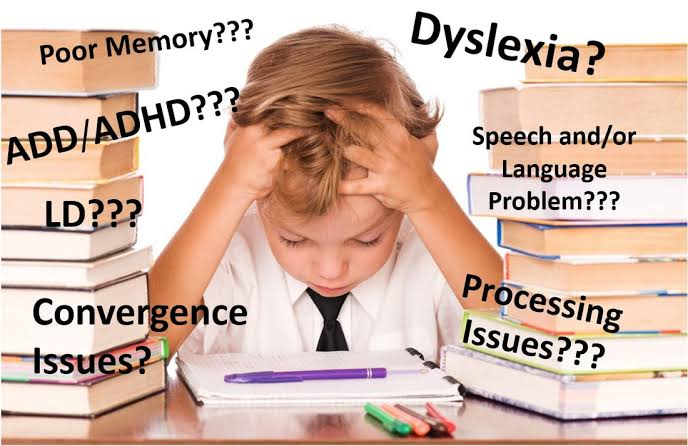 A child with learning difficulties
