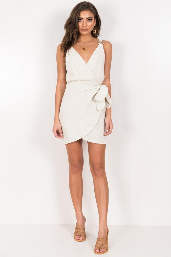 Classy White Luna Dress