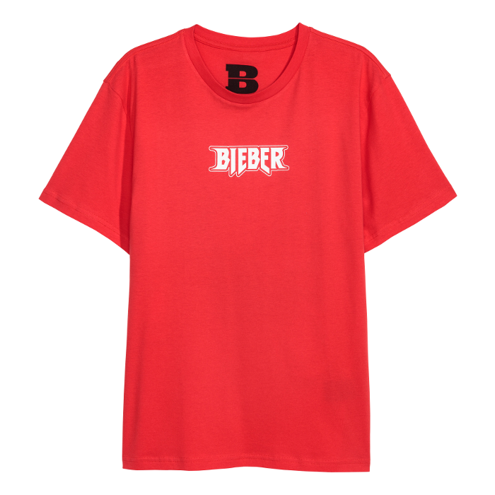 Image result for red bieber merch shirt