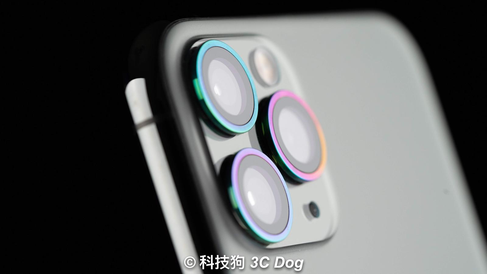 iPhone 11 系列 hoda 藍寶石金屬框鏡頭保護貼開箱
