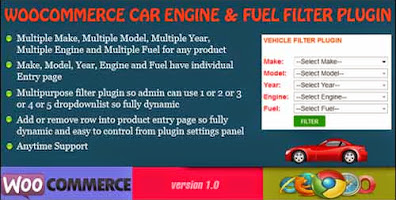 Engine and Fuel Filter WooCommerce Plugin