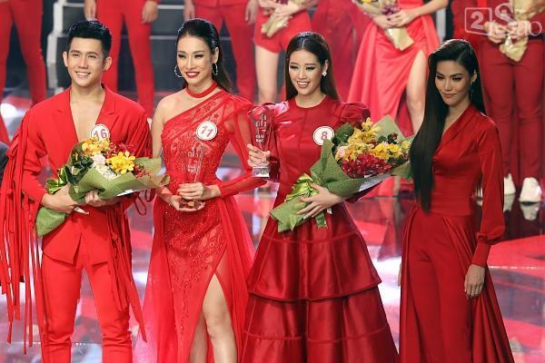 Bùi Quỳnh Hoa xuất sắc đoạt giải Vàng Siêu mẫu Việt Nam 2018