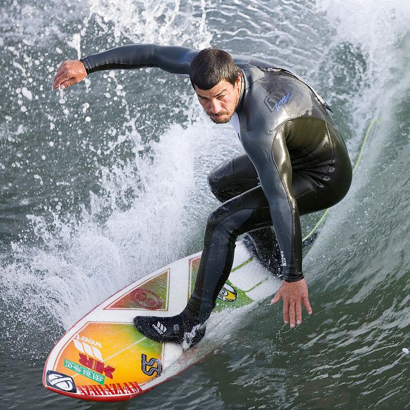 Surfer at the Cayucos Pier, Cayucos, CA.jpg