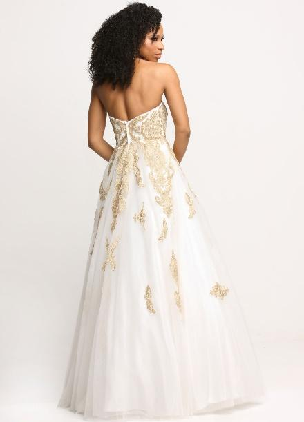 Back view of Style : 71634