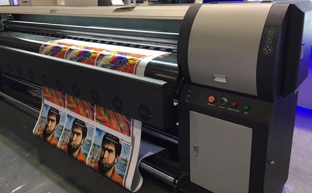 Các dòng máy in và chất liệu in