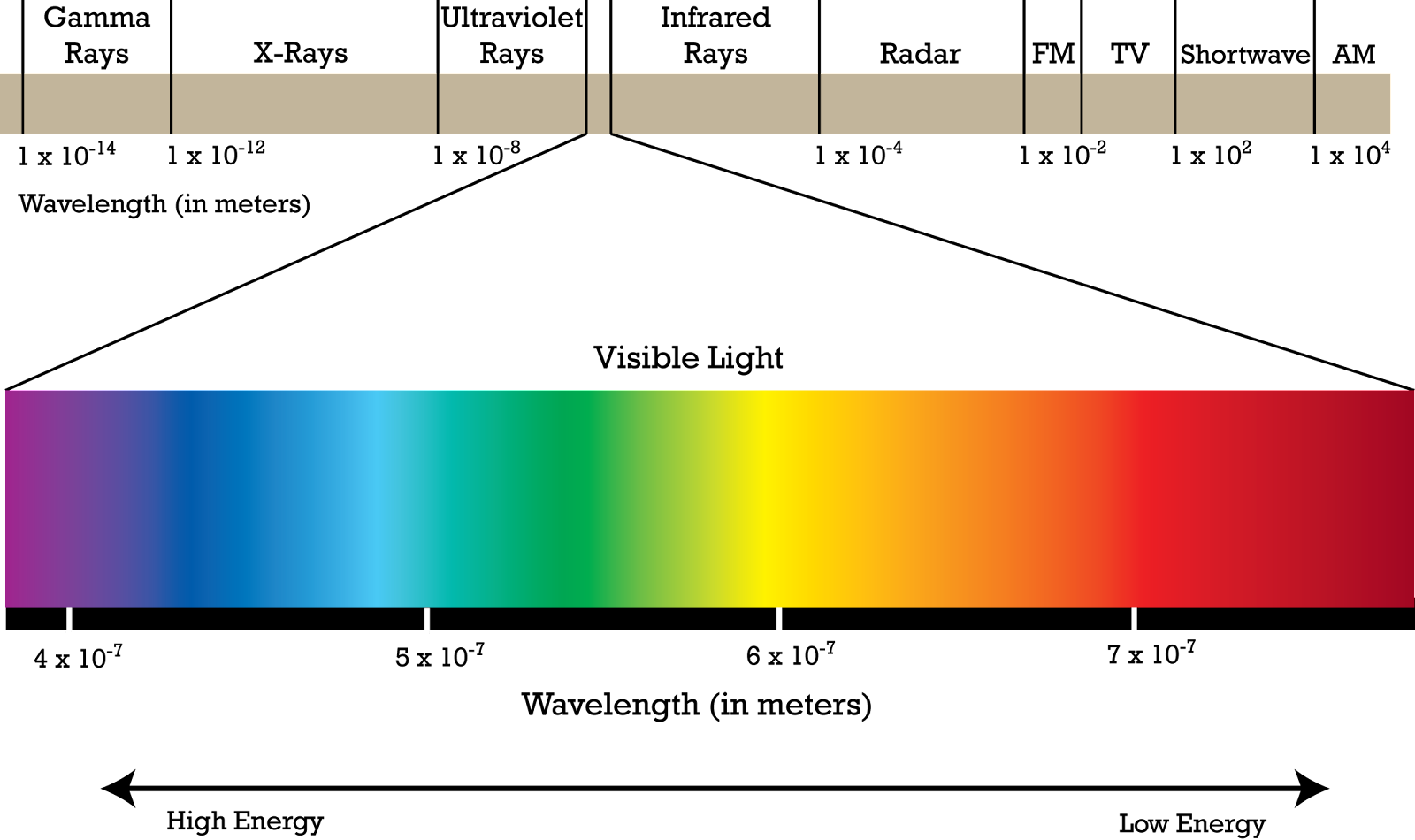Electromagnetic Spectrum Photsynthesis Made Simple