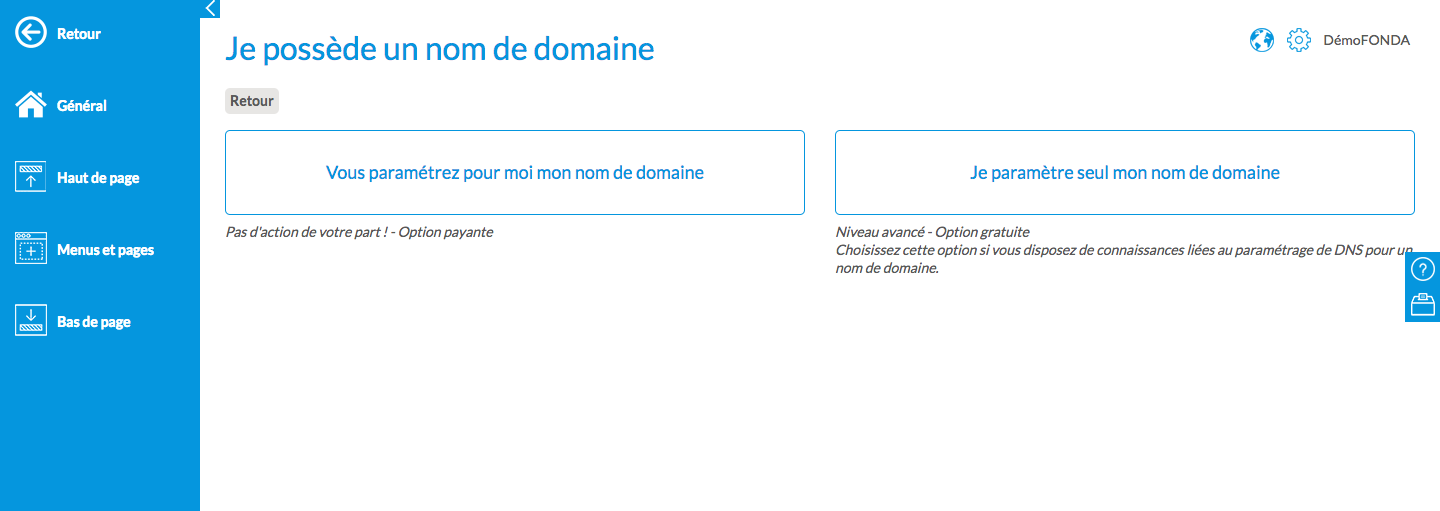 associations site web nom de domaine