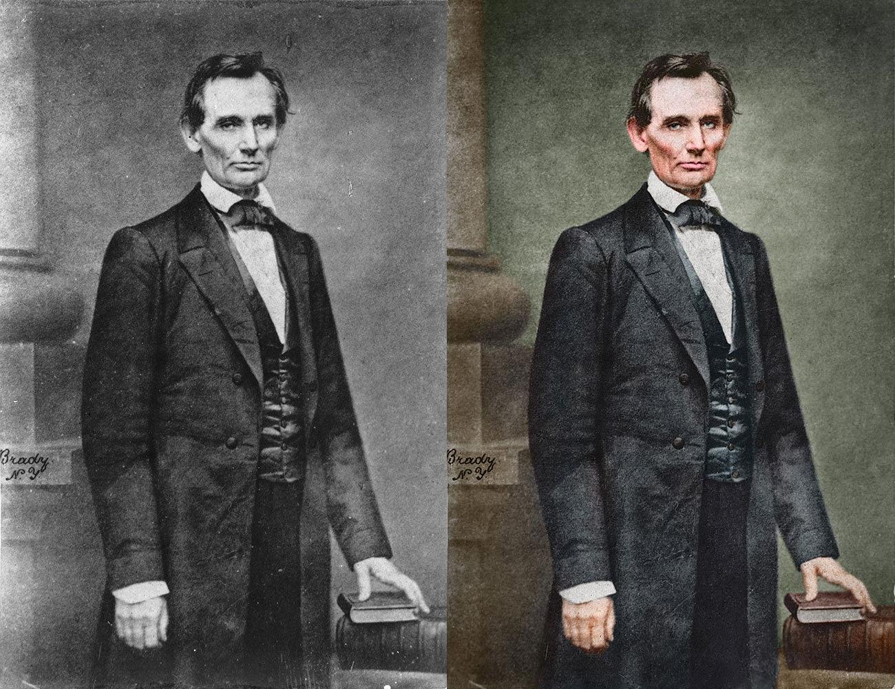 Mathew Brady Abraham Lincoln
