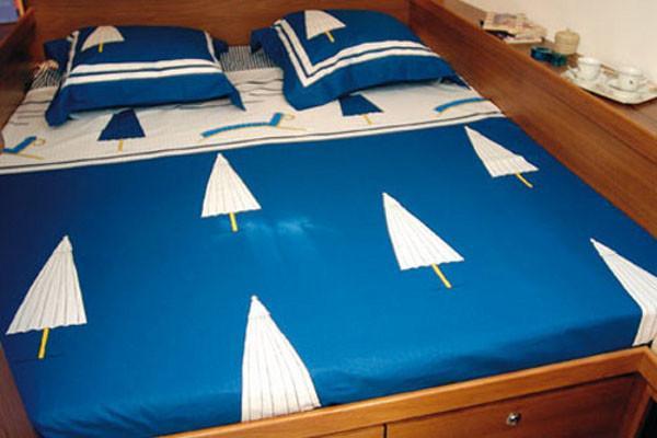 Bateau Lagoon 570 cabine double - A la voile Maldives