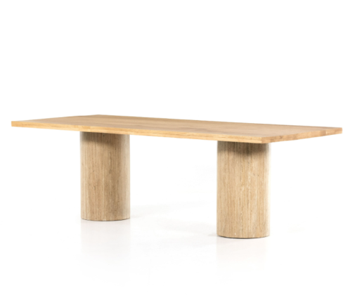 A picture containing table, furniture, wooden, trestle table  Description automatically generated