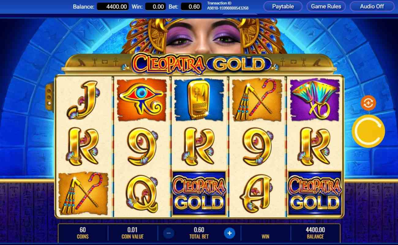 Cleopatra Gold by IGT online slot casino game