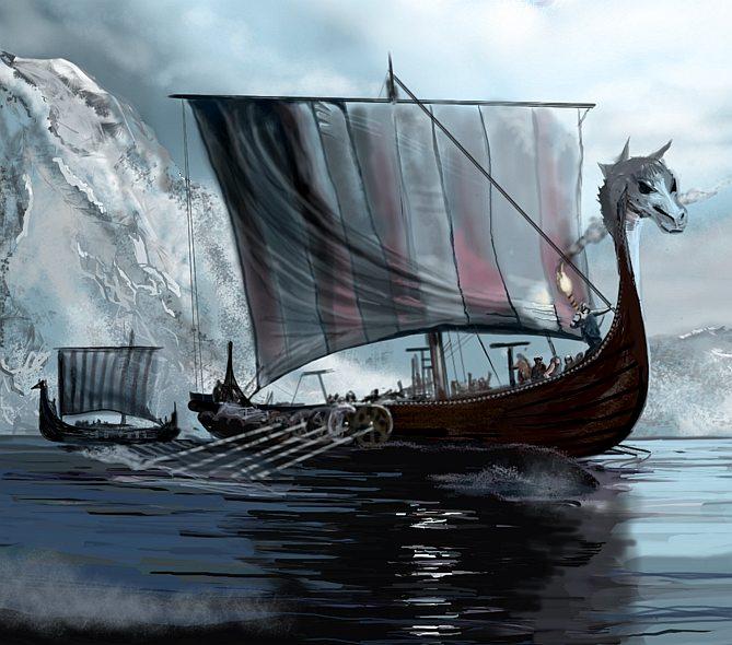 Image result for viking longship
