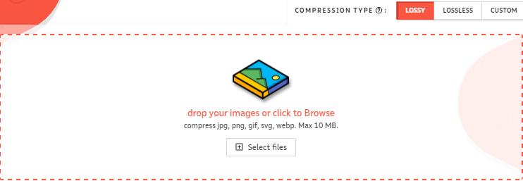 Situs Kompress Foto Online Gratis dengan compressor.io