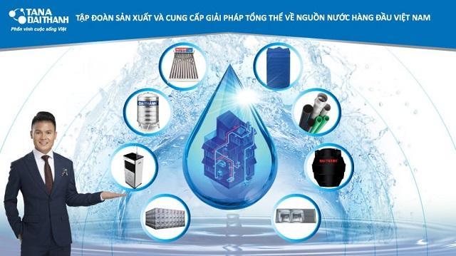 Tập đoàn Tân Á Đại Thành-chuyên cung cấp các giải pháp về nguồn nước