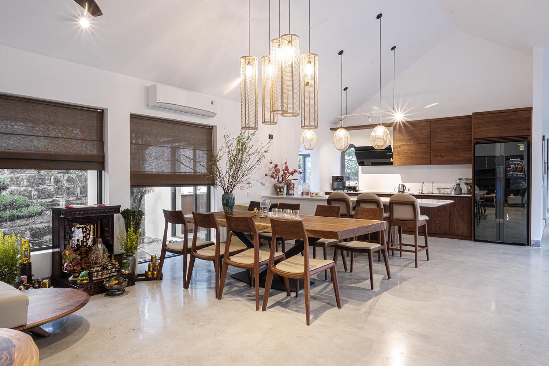 Tính đơn giản hay phức tạp của phong cách thiết kế cũng quyết định đến giá thành thi công nội thất biệt thự cao cấp.