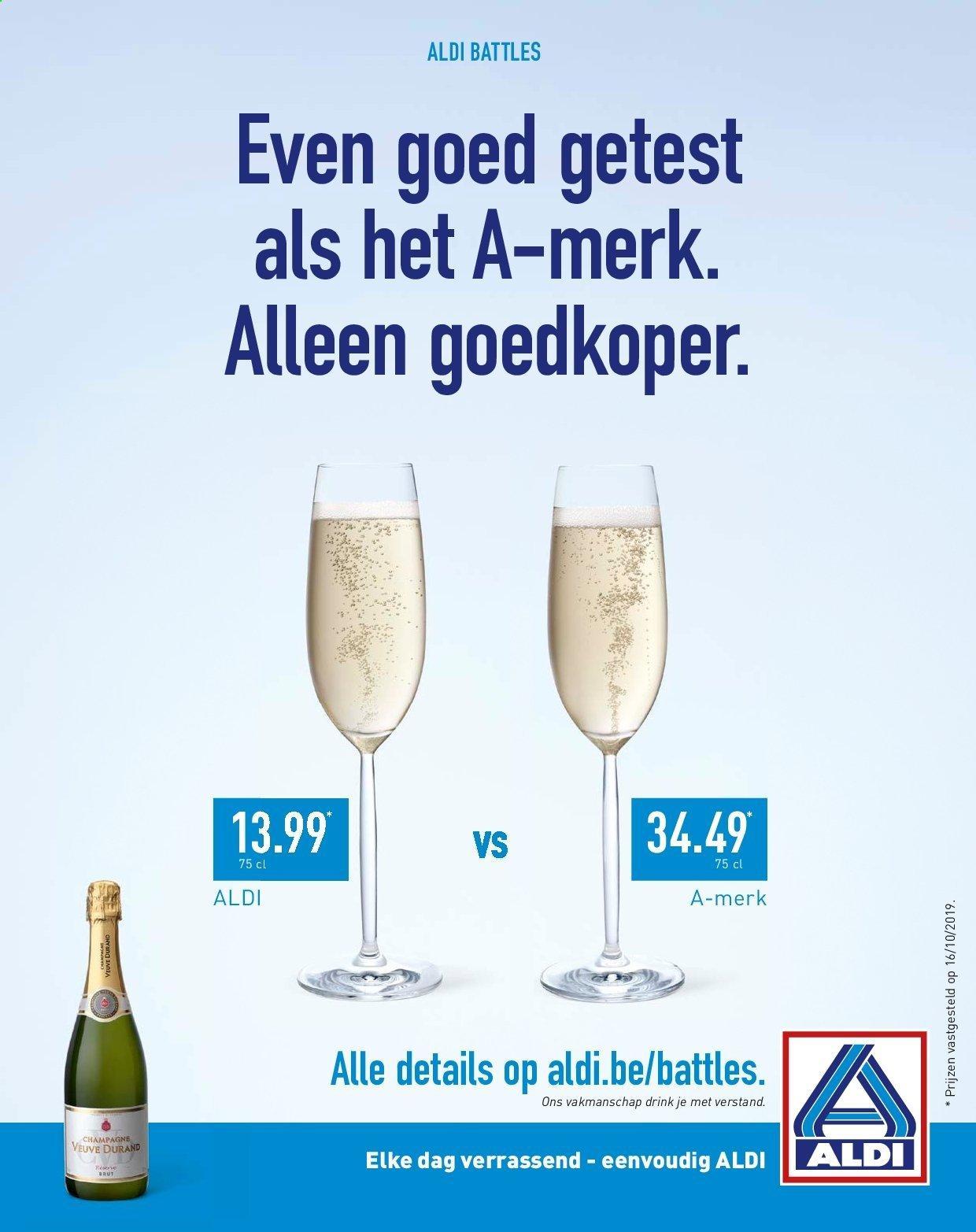 Marketingstrategie van Aldi is door te vergelijken met een ander A-merk