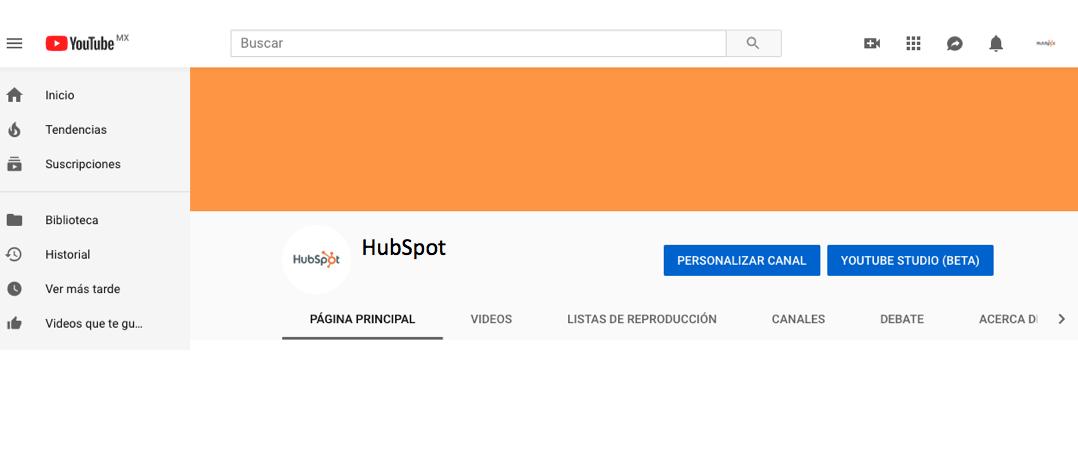 youtube live crear cuenta de marca