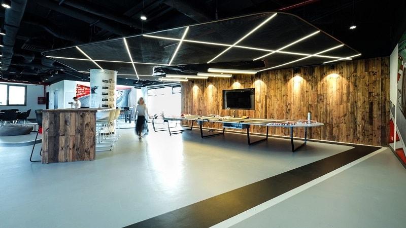 tổng thể thiết kế không gian văn phòng