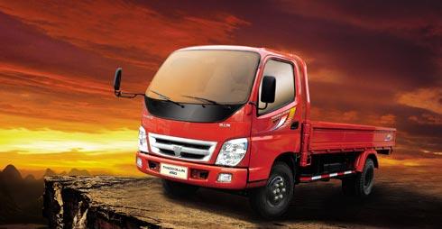 xe tải Thaco olin màu đỏ