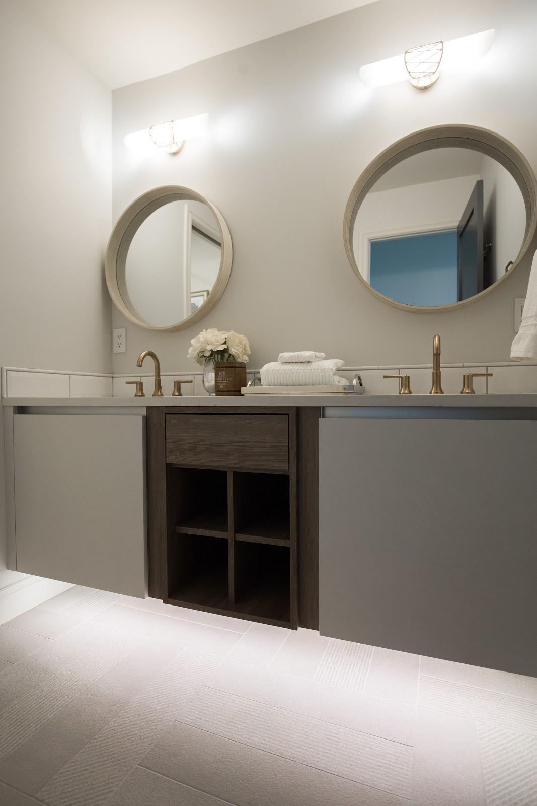 Calgary interior design modern traditional cosy elegant sconces under cabinet lighting