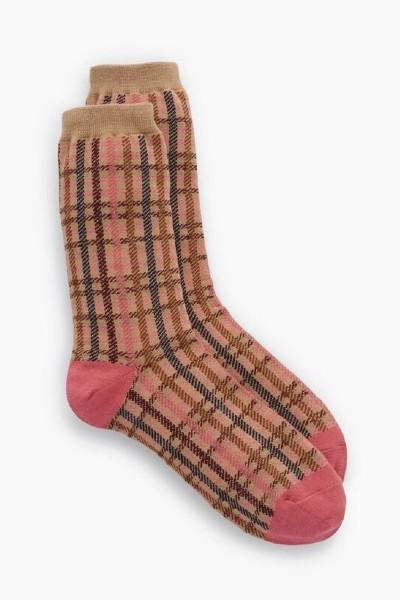 Talbots Highland Plaid Trouser Socks
